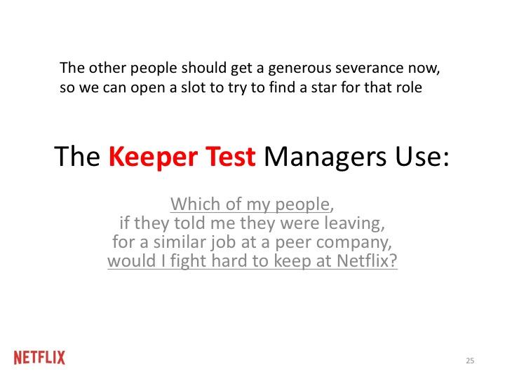 그 테스트를 통화하지 못하는 다른 사람들은 좋은 보상을 받고 지금 즉시 회사를 떠나야 합니다. 그래야 우리가 그 자리를 스타로 채울 수 있으니까요.