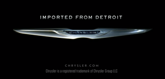 Imported from Detroit, Chrysler.