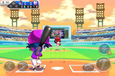 아이폰과 안드로이드 마켓 모두에서 큰 인기를 누리고 있는 게임빌의 야구 게임, Baseball Superstars