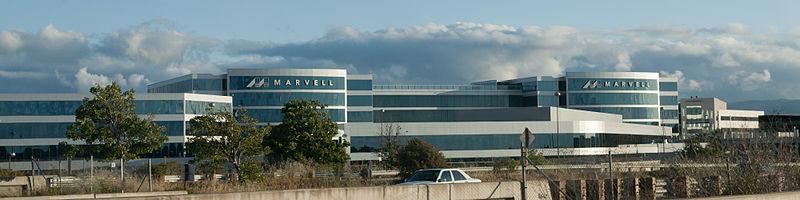 산타클라라에 위치한 마벨 테크놀러지(Marvell Technology) 본사