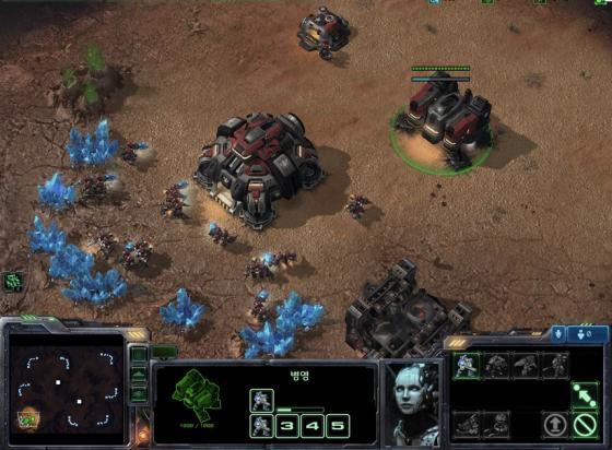 스타크래프트 2의 한 장면