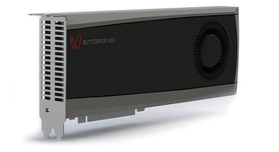 비트코인 마이닝을 해주는 하드웨어. 4,680달러 (출처: http://www.butterflylabs.com/monarch/)