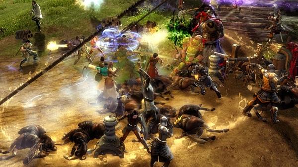 온라인 게임 길드워 2(Guild Wars 2)의 한 장면.